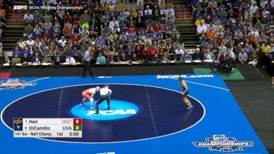 141 Final, Dean Heil (Oklahoma St.) vs. George Dicamillo (Virginia)