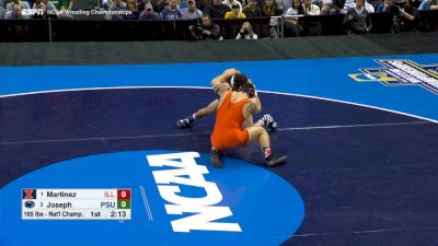 165 lbs Finals, Vincenzo Joseph (Penn St.) vs Isaiah Martinez (Illinois)