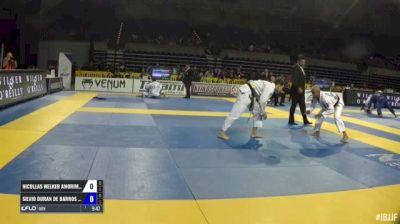 Nicollas Welker Amorim Araujo vs Silvio Duran De Barros Saraiva IBJJF 2017 Pan Jiu-Jitsu Championship