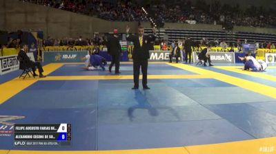 Felipe Augusto Farias Bezerra vs Alexandro Ceconi De Souza IBJJF 2017 Pan Jiu-Jitsu Championship