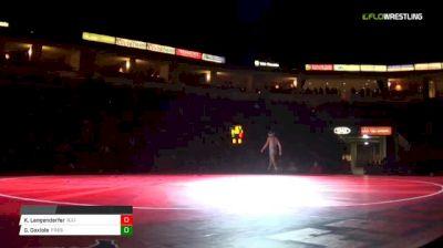 157 lbs Kyle Langenderfer, Illinois vs Greg Gaxiola, Fresno State