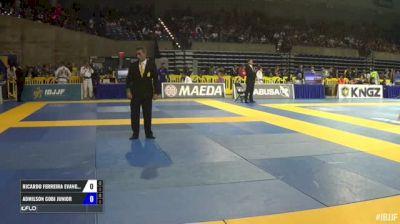 Ricardo Ferreira Evangelista vs Admilson Gobi Junior IBJJF 2017 Pan Jiu-Jitsu Championship