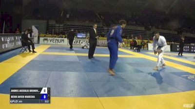 Andris Brunovskis vs Kevin Javier Mahecha IBJJF 2017 Pan Jiu-Jitsu Championship