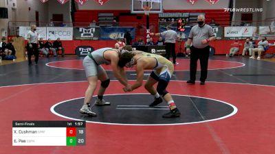 172 lbs Semifinal - Xavier Cushman, Spring-Ford vs Ethan Pae, Central Dauphin