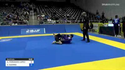 ALEXIS FERNANDO LOPEZ vs SANTIAGO GUERRA 2021 World IBJJF Jiu-Jitsu No-Gi Championship