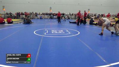 160 7th, Angel Del Cueto, FL vs Jakob Discher, UT