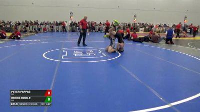 152 7th, Peter Pappas, NY vs Brock Biddle, PA