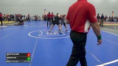 285 7th, Devin Williams, OH vs Parker Fox, NJ