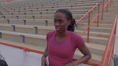 Ashley Spencer most likely will focus on the 400m hurdles this season