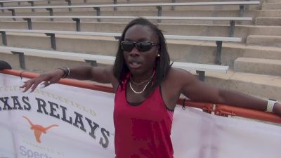 USATF Indoor 60m Champ Morolake Akinosun excited to put on a show at Texas Relays