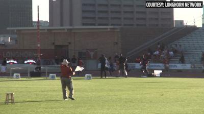 Texas Relays Men's 800m - Last 200m UTEP's Saruni Kicks Down Donavan Brazier