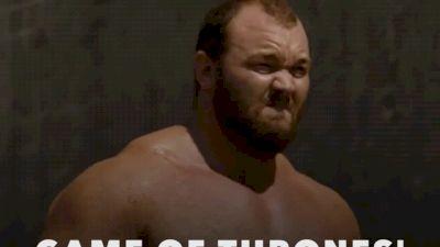 Loz vs Thor vs The Beast at Europe's Strongest Man 2017