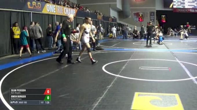 113 Round of 32 - Sean Pierson, Dark Knights vs Owen Burger, Bethel