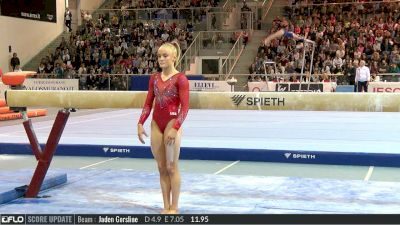 Riley McCusker - Beam, USA - 2017 City of Jesolo Trophy - 2017 Jesolo Trophy
