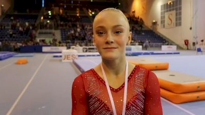 Riley McCusker Excited About 1st AA & 'The Year Is Still Young' - 2017 City Of Jesolo Trophy