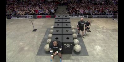 Hafthor Bjornsson vs Eddie Hall Atlas Stones