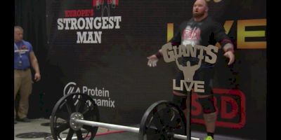 Hafthor Bjornsson Wins Europe's Strongest Man 2017