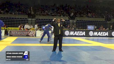 Stefano Fernando Correa vs Thomas Hernan Oyarzun IBJJF 2017 Pan Jiu-Jitsu Championship