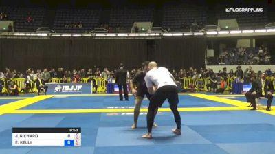 JAMES PUOPOLO vs ELIOT KELLY 2018 World IBJJF Jiu-Jitsu No-Gi Championship