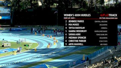 Women's 400m Hurdles, Heat 1