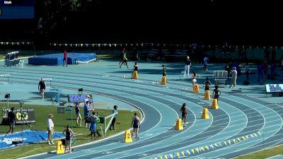 Women's 400m, Heat 1 - Jade Stepter opens up in 51