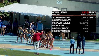 Women's 1500m, Heat 2