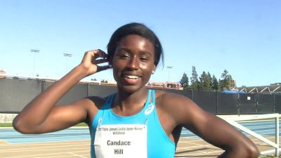 Candace Hill excited for prom after winning 100m, 200m in top 10 world times