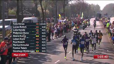 Rotterdam Marathon, Part 2 - 1:03 to Finish
