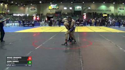 182 2nd Place - Michael Viramontes, Gremlin Wrestling Club vs Jerome Townsell, OKWA Lightning
