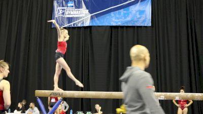 MaKenna Merrell Beam Skills (Utah) - 2017 NCAA Championships Training