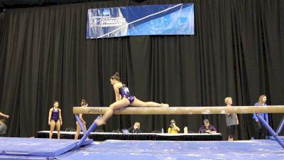 Sarah Finnegan Gorgeous On Beam (LSU) - 2017 NCAA Championships Training