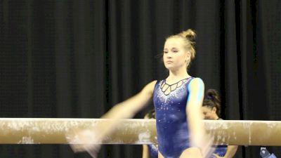 Madison Kocian Hits Beam Set (UCLA) - 2017 NCAA Championships Training