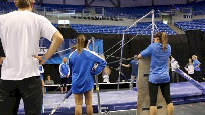 Madison Kocian Sticks Bar Dismount (UCLA) - 2017 NCAA Championships Training