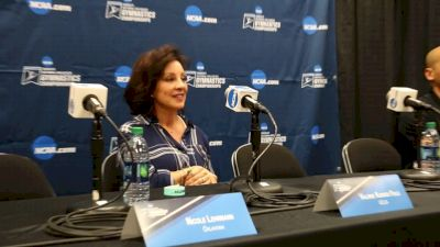 Miss Val On UCLA Being Joyful And Appreciative - 2017 NCAA Championships Semifinal 1