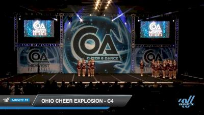 Ohio Cheer Explosion - C4 [2020 L4 Junior - D2 - Small Day 2] 2020 COA: Midwest National Championship