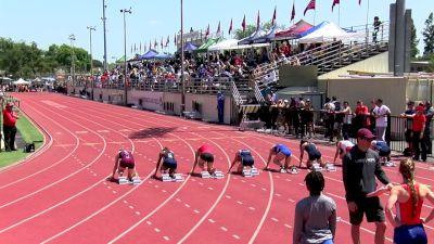 Women's 100m, Heat 10