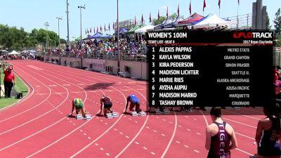 Women's 100m, Heat 9