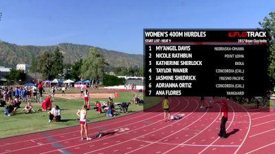 Women's 400m Hurdles, Heat 9