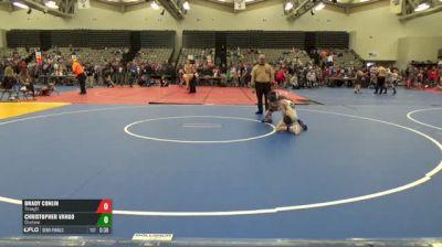 72-J Semi-Finals - Brady Conlin, Strength vs Christopher Vargo, Charleroi