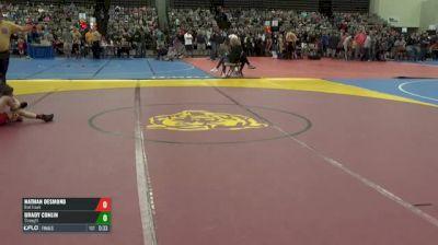 72-J Finals - Nathan Desmond, Red Hawk vs Brady Conlin, Strength