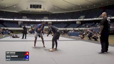 Cody Orrison vs Miguel Rodriguez ADCC North American Trials 2017