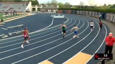 Men's 200m, Heat 9