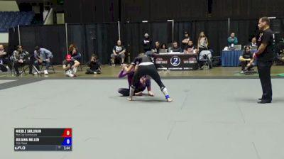 Nicole Sullivan vs Juliana Miller ADCC North American Trials 2017