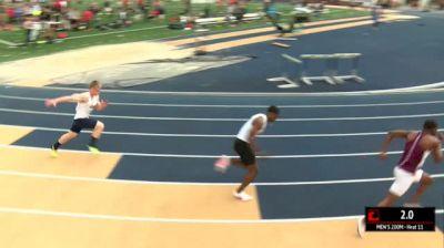 Men's 200m, Heat 11
