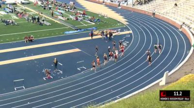 Women's 4x800m Relay, Heat 1
