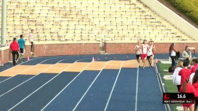 Men's 4x800m Relay, Heat 1