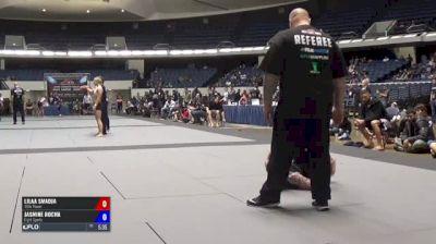 Lilaa Smadja vs Jasmine Rocha ADCC North American Trials 2017