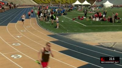 Men's 4x400m Relay, Heat 4