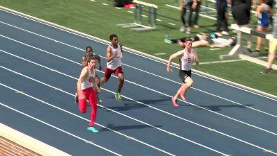 Men's 100m, Heat 1