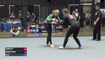 Amanda Leve vs Kendall Reusing ADCC North American Trials 2017